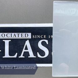 White Laminated